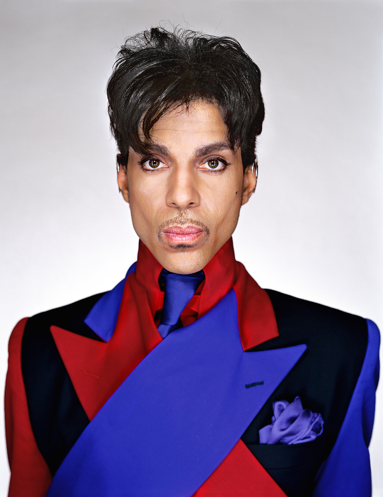 Prince, from the series »Portraits« by Martin Schoeller