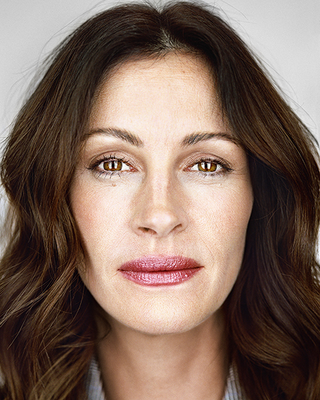 Julia Roberts, from the series »Close Up« by Martin Schoeller