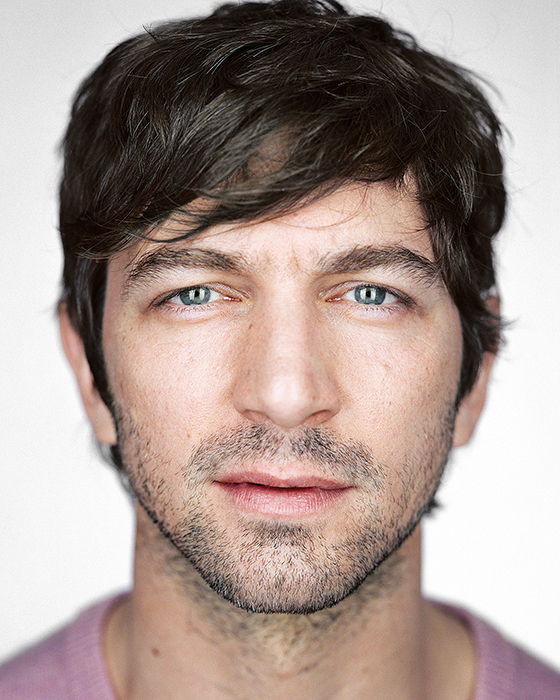 Michiel Huisman, from the series »Close Up« by Martin Schoeller