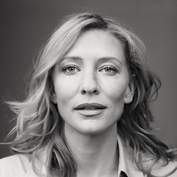 Cate Blanchett, from the series »Portraits« by Martin Schoeller