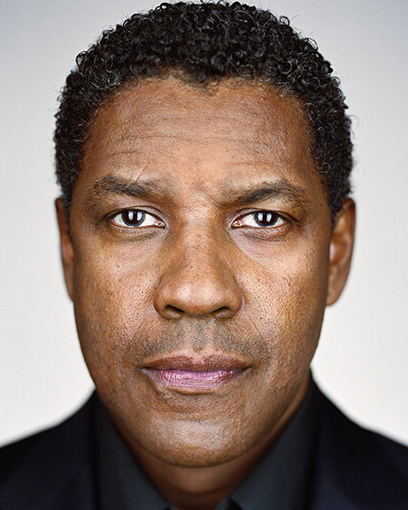 Denzel Washington, from the series »Close Up« by Martin Schoeller