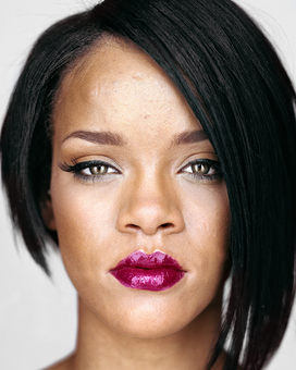 Rihanna, from the series »Close Up« by Martin Schoeller