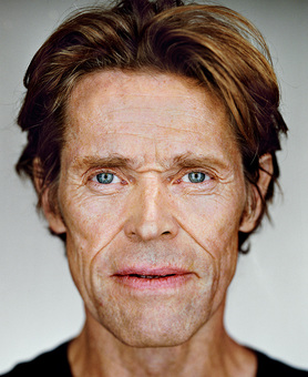 Willem Dafoe, from the series »Close Up« by Martin Schoeller