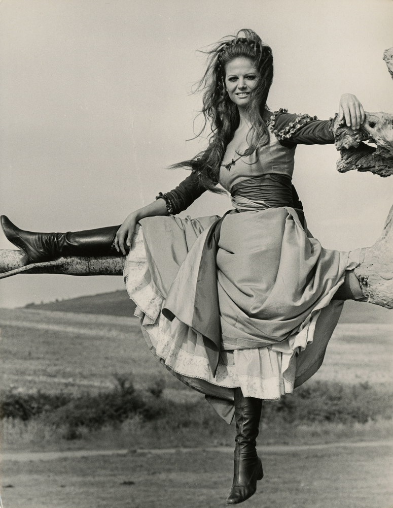 Claudia Cardinale in »The Adventures of Gerard«