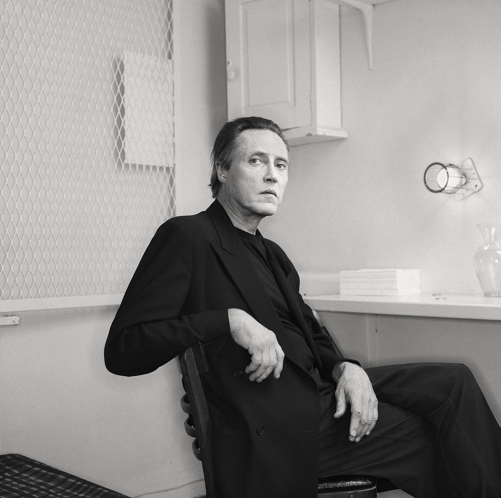 Christopher Walken, from the series »Portraits« by Martin Schoeller